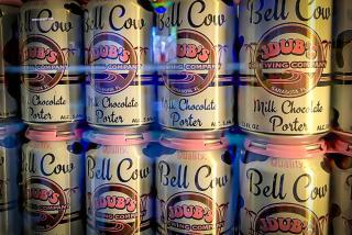 Canned beers at Jdub's Brewing Co. in Sarasota