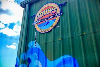 Sign at Jdub's Brewing Co. in Sarasota