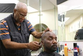 Jetson's Creative Trends, a local barbershop in Newtown, Sarasota