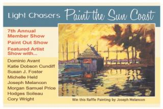 Our artists hand out about 2000 of these over the year mostly during the Paint Sarasota Paint Out.