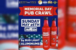 Memorial Day event banner from The Block that Roxx in Siesta Key Village