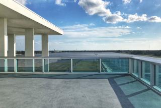 The view from the top of the Finish Tower at Nathan Benderson Park.