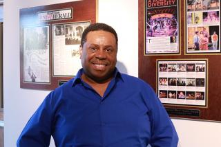 Nate Jacobs, founder and artistic director of The Westcoast Black Theatre Troupe (Photo: Jessika Ward)