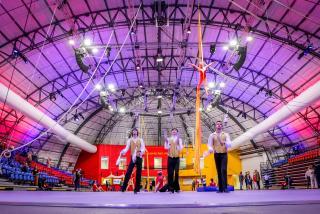 Arena for Sailor Circus in Sarasota
