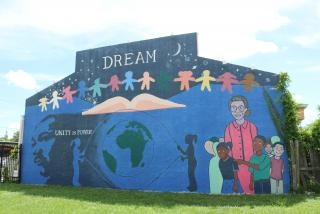 A mural in the Newtown District, located in the northside of Sarasota. Newtown is the heart of the city's African-American community.