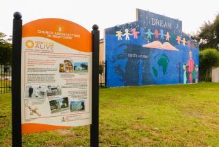 tour marker in newtown neighborhood in sarasota florida