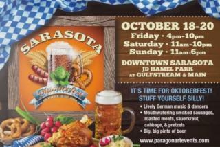 Oktoberfest 2019 at JD Hamel Park in Downtown Sarasota
