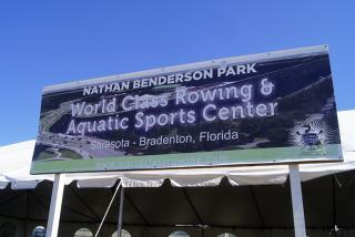 Nathan Benderson Park.  Photo credit: Robin Draper.