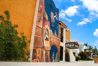 mural outside Florida Studio Theatre in Sarasota