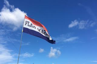 Flea Market flags flying high