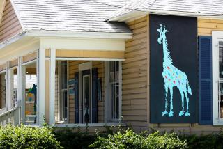 Artful Giraffe. Photo credit: Liz Sandburg