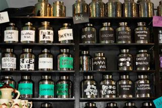 Wide selection at the Tea House.  Photo credit: Liz Sandburg
