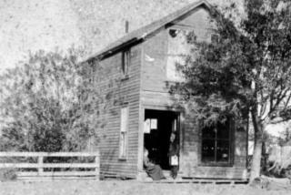 historical photo of sarasota times newspaper building