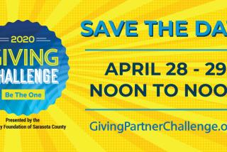 The Giving Challenge Graphic - Save the Date 4/28-29/2020