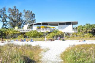 pavilion at siesta beach in sarasota florida