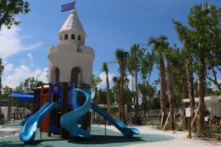 playground at siesta beach in sarasota florida