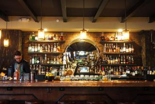 The bar at Sage SRQ in Sarasota