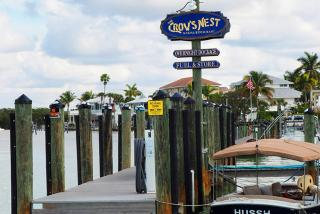Crow's Nest is right on the sparkling Venice Jetty (Photo: Lauren Jackson)