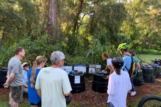 Members of Transition Sarasota partaking in an educational tour