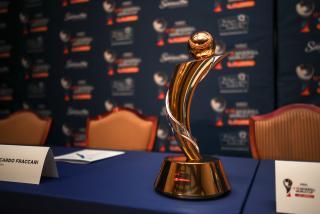 U-18 Baseball World Cup trophy