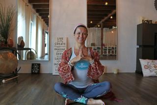 Claudia Baeza, of Pineapple Yoga