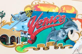 Learn how to find Venice's best angles, like this downtown mural