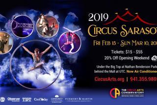 2019 Circus Sarasota