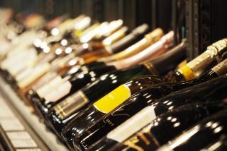Bottles of wine at Michael's Wine Cellar