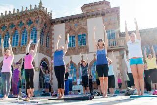 Yoga at Ca' d'Zan