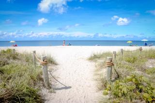 entrance to blind pass beach in sarasota county
