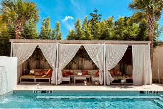 Sarasota Modern pool cabanas