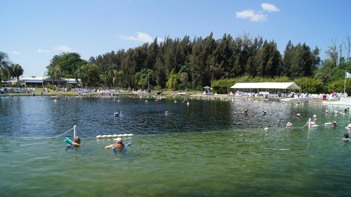 Warm Mineral Springs in North Port Florida