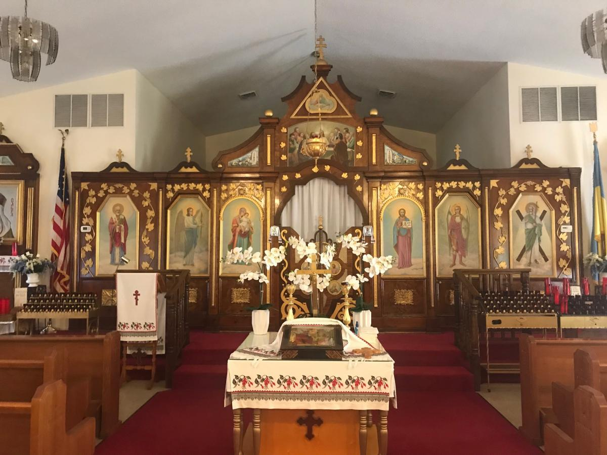 Inside look at St. Andrew's Church in North Port Florida