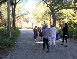 Travel writers brought in by The Ritz-Carlton tour The Ringling with VSC