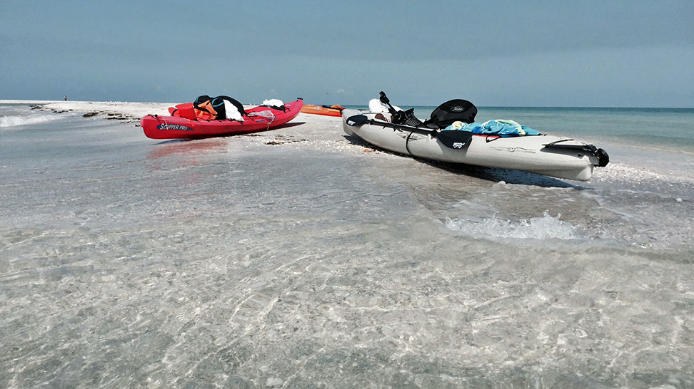 Big Sarasota Pass Sandbar