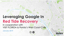 Leveraging Google in Red Tide Recovery - Webinar