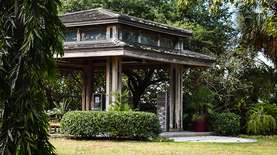 The Pagoda At Selby Gardens