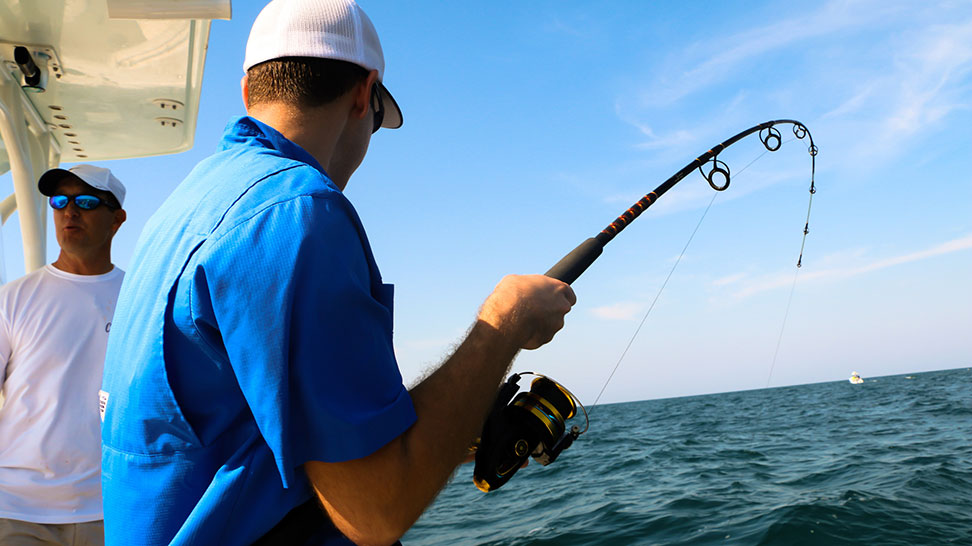 Fishing offshore in Sarasota County