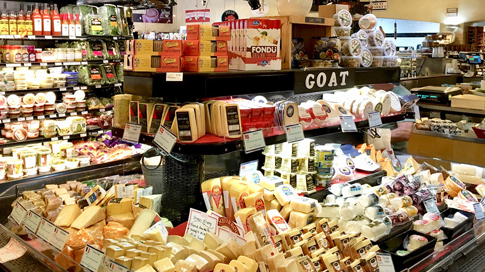 ​ Morton's Gourmet Market has over 200 cheeses to choose from! (Photo: Nicole Coudal) Morton's Gourmet Market has over 200 cheeses to choose from! (Photo: Nicole Coudal) Click and drag to move ​