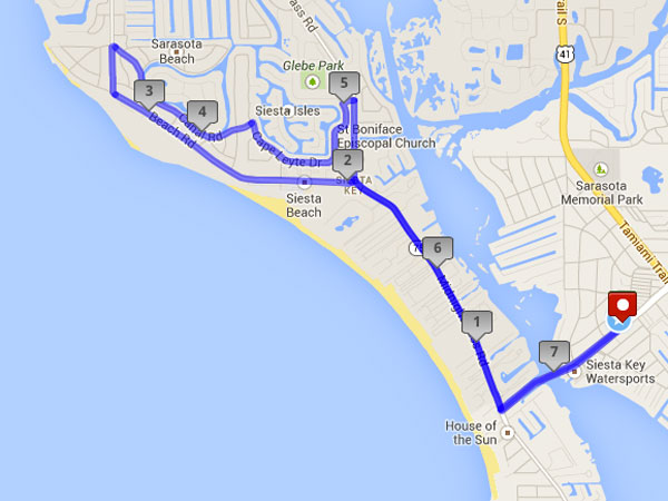 Hyatt Regency - Long Route