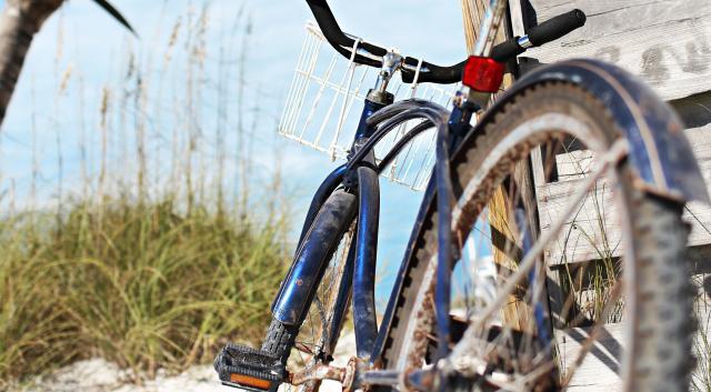 A bike out on Lido beach