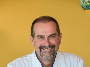 Marc Alton, Executive Chef at Fins at Sharky's