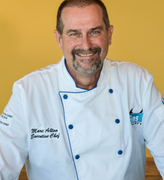 Marc Alton, Executive Chef at Fins at Sharky's