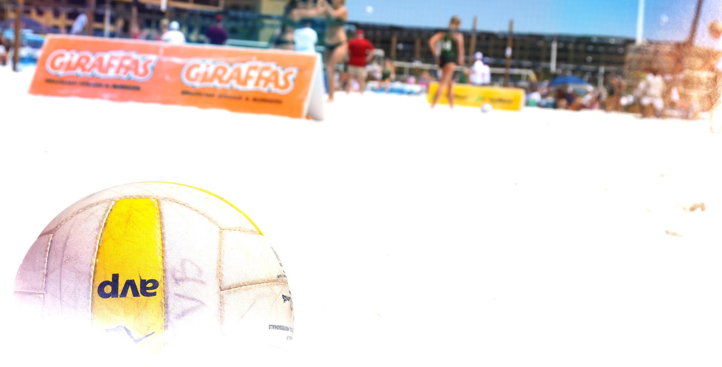 Volleyball Competition on Siesta Key Beach