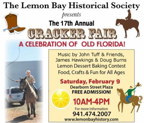 Lemon Bay Historical Society presents the 17th Annual Cracker Fair!