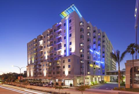 Exterior - Aloft Sarasota offers a convenient downtown location, vibrant social scene, and tech-savvy design.