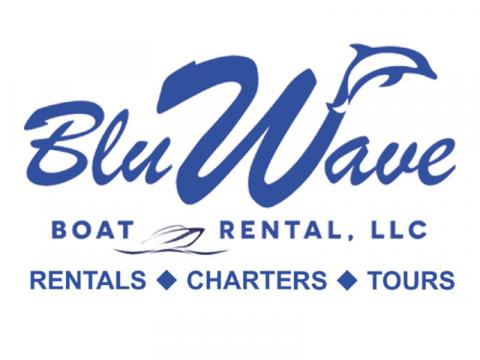 Bluwave Boat Rental and Charters Logo - This is our Bluwave logo