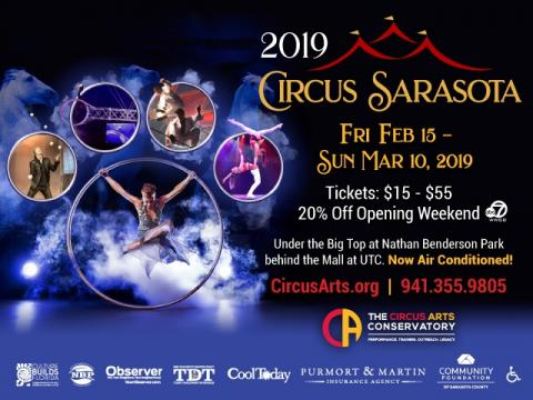Circus Sarasota Winter Performances 2019