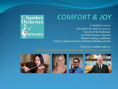 Comfort and Joy: A Holiday Concert