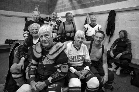 David Burnett  Fourth Quarter: Senior Athletes, Their Indomitable Spirit